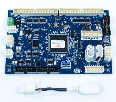 Destaque - PLACA UNIVERSAL PCB A CONTROL UVC4 C712 C713