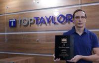 Com mais uma premiação, Top Taylor reforça o reconhecimento internacional da marca